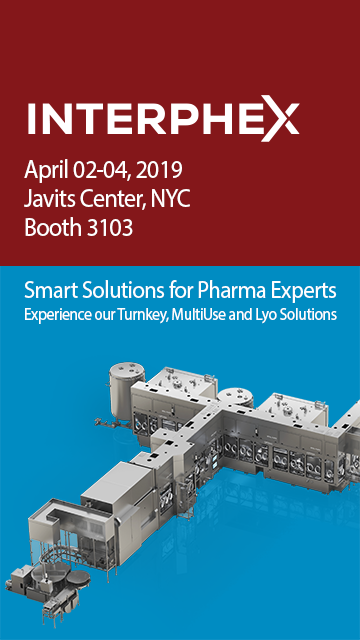 OPTIMA pharma @ Interphex 2018 | Booth 3103